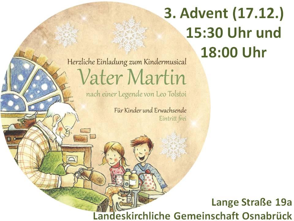 Flyer Vater Martin Musical | LKG-Osnabrück
