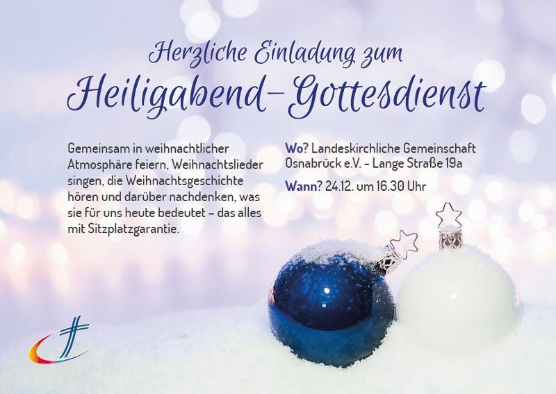 Heiligabend | LKG-Osnabrück